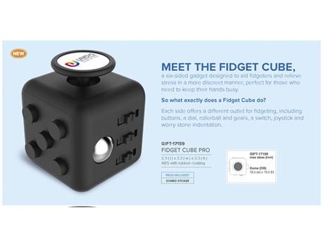 Fidget Plus Cube